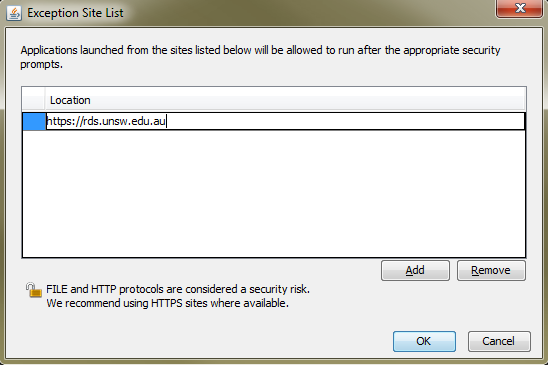 What do I do with the 'Application Blocked' message?   UNSW